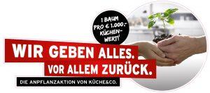 """Küche&Co will der Natur etwas zurückgeben. Aus diesem Grund wurde mit den Österreichischen Bundesforsten die Anpflanzaktion """"Wir geben alles, vor allem zurück"""" gestartet."""