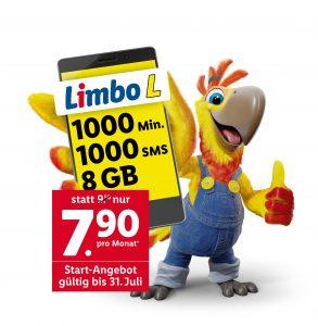 Lidl will mit seinen Limbo-Tarifen als Tiefflieger im österreichischen Mobilfunkmarkt punkten.
