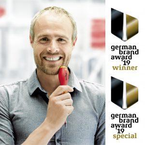 Handwerkzeughersteller Wiha darf sich über die zweifache Auszeichnung im internationalen Marken-Wettbewerb des German Brand Awards 2019 freuen. Die Prämierung des gesamtheitlichen Markenauftritts gilt als Krönung nach den Design- und Innovationawards in GOLD für die Wiha Produktneuheit speedE in jüngster Vergangenheit.