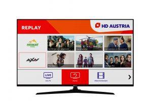 Die HD Austria Smart-TV-App steht ab sofort auch auf den neuen Smart-TV-Geräten von Nabo und Telefunken zur Verfügung.