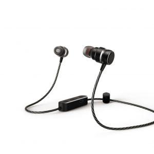 Das neue BT-Headset überzeugt mit einem edlen Metallgehäuse, sorgt mit zwei Lautsprechern pro Seite für satten Sound, kann zum Telefonieren via Smartphone genutzt werden und ist angenehm zu tragen.