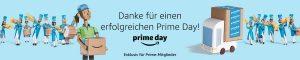 Der diesjährige Amazon Prime Day soll weltweit erfolgreicher gewesen sein, als Black Friday und Cyber Monday zusammen, wie der Veranstalter informiert. (Bild: Amazon.de)