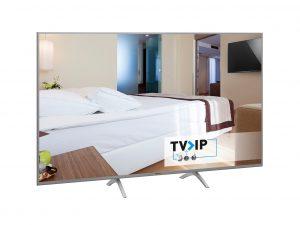 Basierend auf der TV>IP Technologie bietet Panasonic bietet Hoteliers, Krankenhäusern etc ein günstiges und einfach umzusetzendes Verteilsystem.