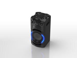 Zweiter Hauptpreis - powered by Emporia – ist ein Panasonic TMAX 10E-K Partylautsprecher.