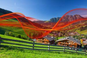 A1 präsentiert in Alpbach erstmals 8K-Streaming auf 5G.