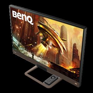 Scharfe, flüssige Bilder und satter Sound: Der BenQ EX2780Q liefert mit neuester HDRi-Technologie, 144 Hz, FreeSync und integrierten 2.1 treVolo Lautsprechern ein besonderes audiovisuelles Erlebnis.