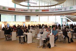 Netzwerken, Austauschen, Energie tanken: Das IFA-Palais ist Treffpunkt für alle Mitglieder der Verbundgruppe ElectronicPartner.