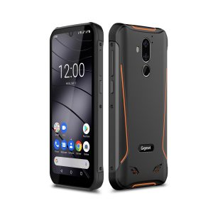 Mit dem GX290 hat Gigaset erstmals ein Smartphone für den Einsatz im Gelände vorgestellt.