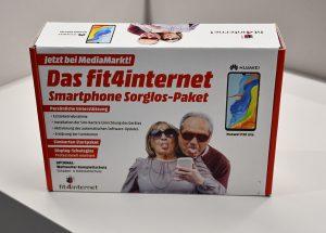 Das fit4internet Smartphone Sorglos-Paket wird mit unterschiedlichen Smartphones und Tarifen angeboten.