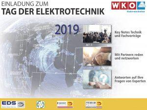 """Der diesjährige """"Tag der Elektrotechnik"""" bietet wieder die Gelegenheit, sich umfassend über aktuelle Entwicklungen zu informieren und mit Branchenkollegen auszutauschen."""