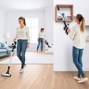 Leicht und flexibel sowie starke Reinigungskraft auf allen Bodenbelägen, so präsentiert Bosch seinen neuen Unlimited Serie 6.