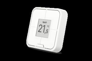 FRITZ!DECT 440 ist die Fernbedienung für das smarte Heimnetz: Sie bietet vier Taster für die komfortable Bedienung von FRITZ!-Produkten, ein E-Paper-Display für gute Ablesbarkeit und Energieeffizienz und einen Temperatursensor zum Steuern der FRITZ!-Heizkörperregler. Per DECT ULE lässt sie sich sicher ins FRITZ!-Heimnetz einbinden und dank magnetischer Wandhalterung flexibel einsetzen.