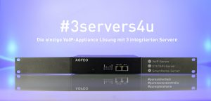 Die ES Pure-IP 20 IT ist die erste voll VoIP Appliance von Agfeo.
