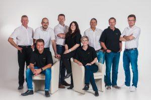 Neun Mitarbeiter aus unterschiedlichen Bereichen sorgen für die Wissensvermittlung.