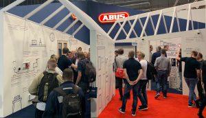 ABUS durfte sich in Berlin über regen Besucherzuspruch und somit eine gelungene IFA-Premiere freuen.