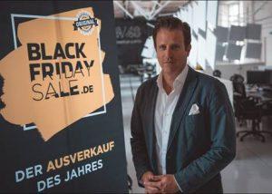 """Der GF der Black Friday GmbH, Konrad Kreid, geht davon aus, dass """"der Black Friday 2019 alle Rekorde brechen wird"""". (Foto: blackfridaysale.at)"""