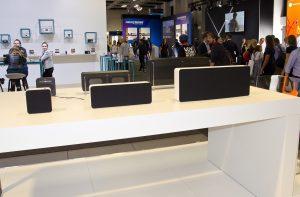 Aqipa nutze die Gear Area in Halle 7.2b, um die neue Braun Audio Produktlinie auf der IFA in Berlin vorzustellen.
