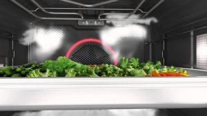 """Der ProCook Kombi-Dampfgarer von Gorenje verfügt über """"PureSteam"""". """"Damit bleiben Lebensmittel extrem saftig, zart und geschmackvoll"""", wie der Hersteller verspricht. (Bild: Gorenje)"""