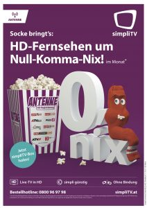 Im Rahmen der neuen Herbstkampagne gibt es die kostenlose Antenne HD-Registrierung von simpliTV zu besonders attraktiven Konditionen.