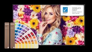 BenQ SL6502K – das weltweit erste Digital Signage-Display mit Pantone Validated Zertifizierung.