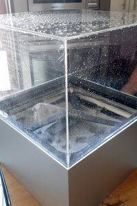 Auf den EFHT zeigte Elektra Bregenz AG das neue Corner Wash-System. Dessen drei Sprüharme erreichen auch die Ecken des Geschirrspülers und erlauben damit eine effektivere Reinigung des Geschirrs.