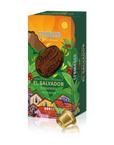 Die No. 7 der Cremesso World´s Finest Coffees heißt El Salvador Pacamara. Die Sorte besteht zu 100% aus hochwertigen Arabica-Bohnen. (Bild: Cremesso)