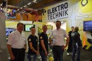 Die OÖ Elektroinnung präsentierte sich auch heuer auf der Welser Berufsinformationsmesse.