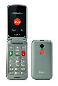 Mit dem neuen GL590 bringt Gigaset ein Handy speziell für die Bedürfnisse von Senioren. Neben der einfachen Bedienung soll das Klapphandy mit seiner Notruf-Taste punkte. Bis zu fünf Rufnummern können dazu auf dem Gerät hinterlegt werden.