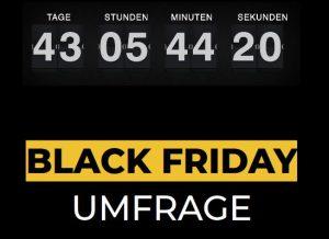Am 29. November 2019 ist es soweit: Der siebente Black Friday findet statt. Der Veranstalter hat sich anlässlich des bevorstehenden Events unter deutschen Bürgern umgehört. (Bild: Black Friday GmbH)