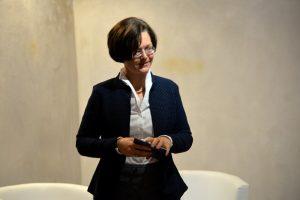 Rechtsanwältin und Franchiserechts-Expertin Nina Ollinger führte durch den Abend.