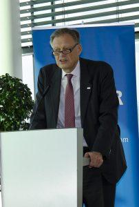 """Sektionschef Gernot Grimm ortete in 5G eine Technologie, die """"den neuen Rundfunk tragen wird."""""""