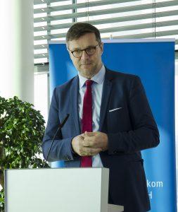 """RTR-GF Klaus Steinmaurer wies darauf hin, dass """"5G und Broadcasting das Thema Konvergenz schon in sich"""" bergen würde – genau das die bisher sektorspezifische Regulierung aber vor enorme Herausforderungen stelle."""