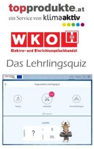 Ab Montag, den 18.11.2019 können Lehrlinge ihr Wissen bezüglich Energiesparen im Haushalt beim Lehrlingsquiz von Bundesgremium und der Österreichischen Energieagentur testen.