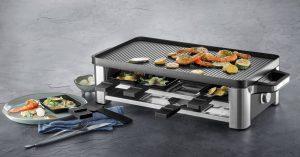 """Das WMF Lono Raclette erzielte passend zum Start der Fun Cooking-Saison bei einem Test der Stiftung Warentest die Bewertung """"gut"""". (Bild: WMF)"""