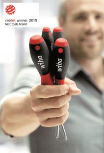 Handwerkzeughersteller Wiha erhält für seine hervorragende Markenarbeit den Red Dot Award: Best of the Best.