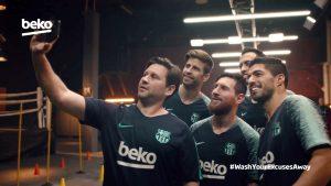 Gemeinsam mit Beko und natürlich den Stars des FC Barcelonas gibt es keine Ausrede mehr beim Trainieren.