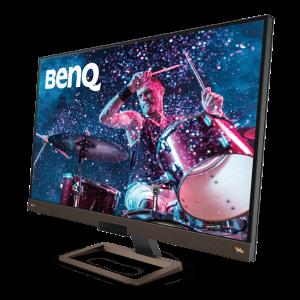 Der BenQ EW3280U sorgt mit HDRi, Brightness Intelligence Plus-Technologie und Lautsprecher für ein intensives audiovisuelles Erlebnis.