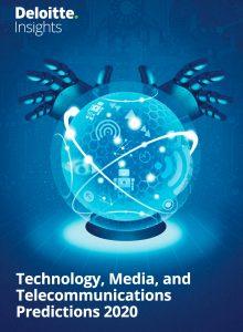 """Der Technologiebereich befindet sich in ständigem Wandel. Die jährlich erscheinende """"TMT Predictions""""-Studie von Deloitte gibt einen Überblick über die wichtigsten Zukunftsthemen der Branche. (Bild: Deloitte """"TMT Predictions"""")"""