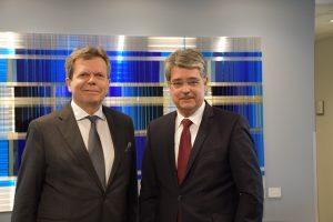 FEEI-GF Lothar Roittner und Obmann Wolfgang Hesoun haben heute die Forderungen und Wünsche der Elektro- und Elektronik-Industrie an die kommende Bundesregierung präsentiert.