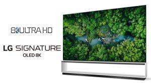 Real 8K 2020 LG SIGNATURE OLED und LG NanoCell Fernseher übertreffen als erste die offiziellen Branchenanforderungen für 8K UHD und bieten ein naturgetreues Seherlebnis.