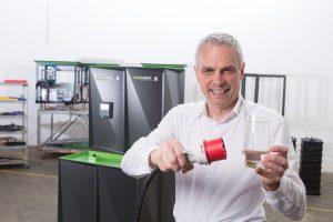 Helmut Mayer, Geschäftsführer BlueSky Energy, freut sich über eine Verdreifachung des Umsatzes und kündigt für 2020 Spezial-Lösungen für Wohnwägen und Kleingärten an.