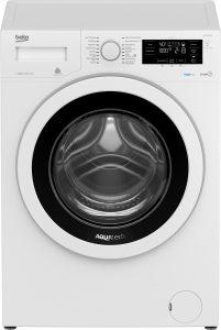 Die Beko WTE 10734 WN erweist sich dank AquaTech als Energiesparmeister und besonders schonend zur Wäsche.