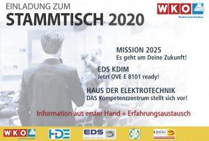 Bundesinnung und e-Marke laden ab Mitte Jänner wieder österreichweit zum traditionellen Stammtisch.