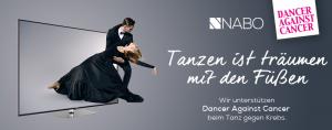 Nabo unterstützt die kommende Dancer against Cancer Gala in der Wiener Hofburg mit Sachpreisen.