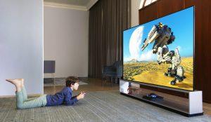 Auf spezielle Gaming-Features wurde heuer besonders großer Wert gelegt – wie hier beim beeindruckenden 8K OLED SIGNATURE ZX.