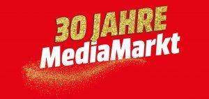 """MediaMarkt feiert 2020 30-jähriges Jubiläum. """"Im Jahr 1990 wurde mit der Eröffnung des ersten MediaMarktes Österreichs in Salzburg der Grundstein für eine beispielslose rot-weiß-rote Erfolgsgeschichte gelegt"""", so das Unternehmen pathetisch. (Bild: MediaMarkt)"""