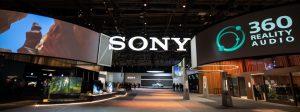 Am CES-Stand von Sony