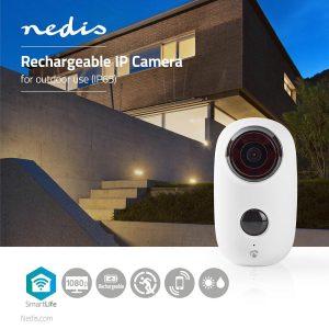 Nedis hat zwei neue akkubetriebene IP-Kameras im Sortiment – eine für den Innen- und eine für den Außenbereich. (Bild: Nedis)