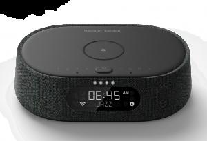 Zuwachs für die Citation Home-Audio-Serie II: Der Kompaktlautsprecher Harman Kardon Citation Oasis mit eingebautem Wecker, Funktion zum kabellosen Laden von Smartphones sowie Musik-Streaming.