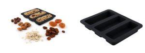 Mit Müslieinsätzen für Dörrautomaten lassen sich Müsliriegel als Snack für zwischendurch und unterwegs einfach selbst herstellen.
